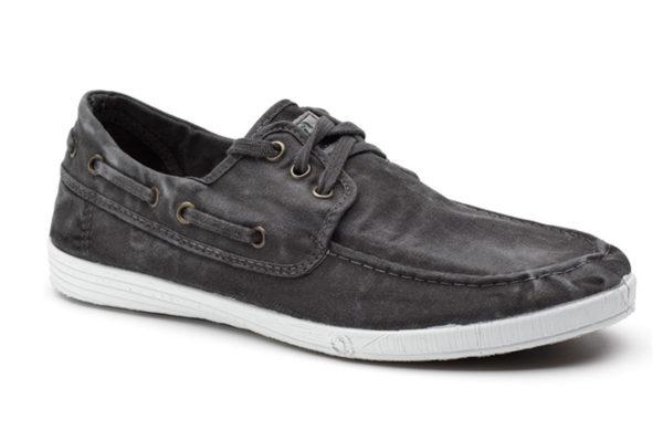 Natural World Schuhe Nautico schwarz