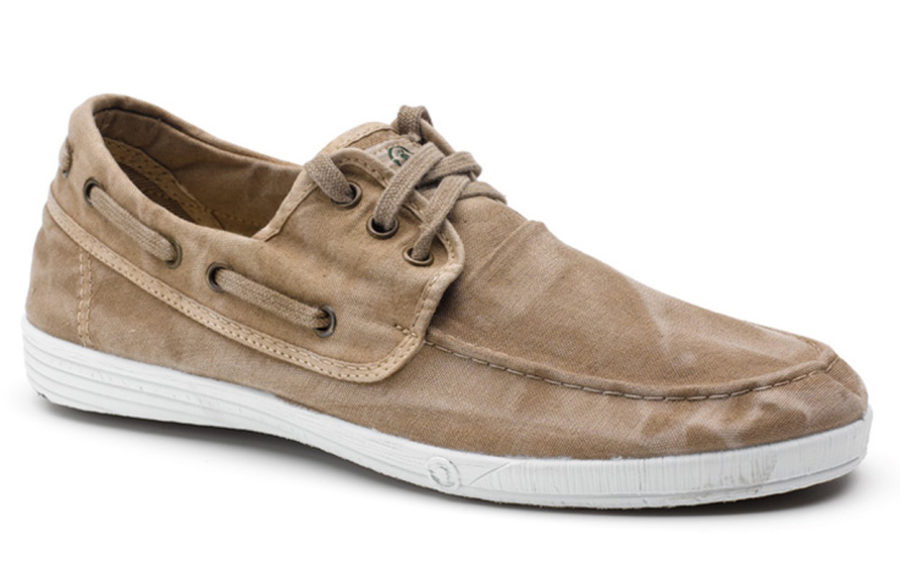 Natural World Schuhe Nautico beige