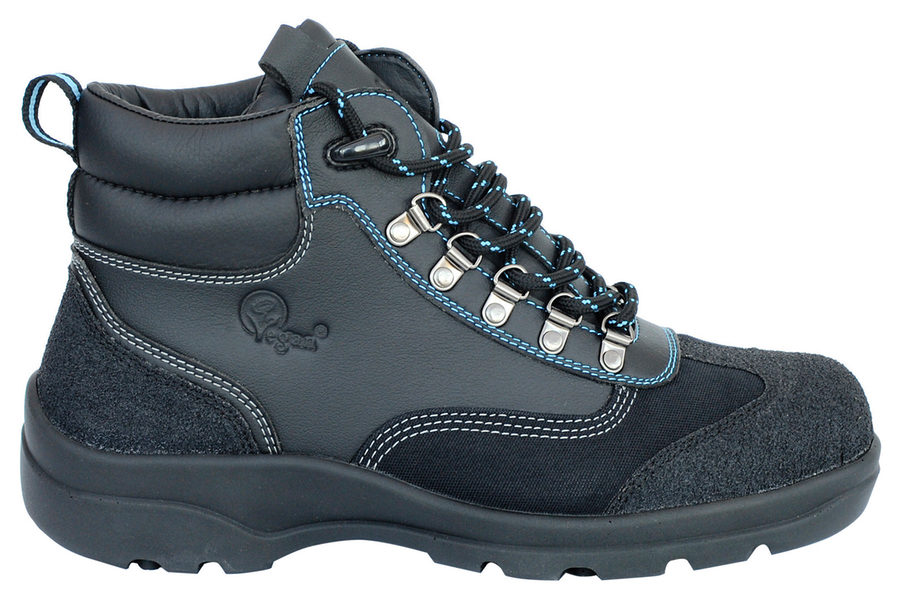 Vegane Wanderschuhe All Terrain Pro Waterproof Hiker in schwarz von Eco Vegan Shoes