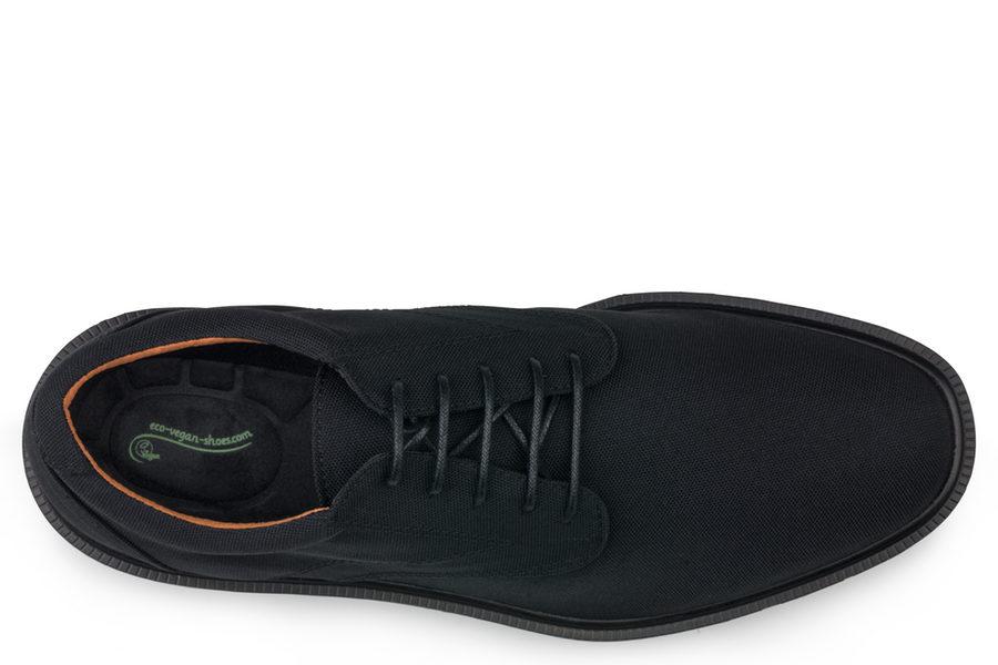 Vegane Herrenschuhe London Walker in schwarz von Eco Vegan Shoes