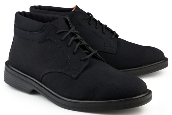 Vegane Herrenschuhe London Walker in schwarz von Eco Vegan Shoes