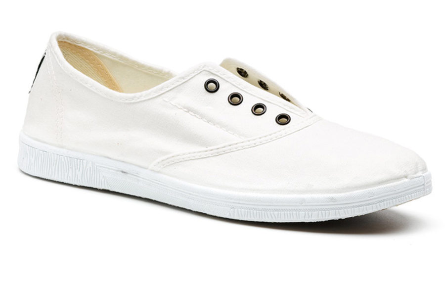 Natural World Schuhe Ingles in weiß