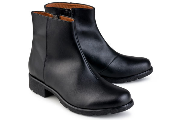 Vegane Stiefelette Grip+ Ancle Boot in schwarz von Eco Vegan Shoes