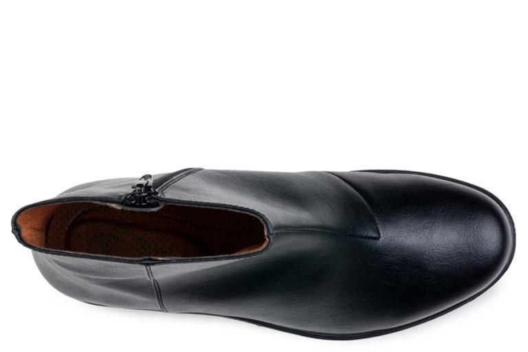 Vegane Damenschuhe Grip+ Ancle Boot in schwarz von Eco Vegan Shoes