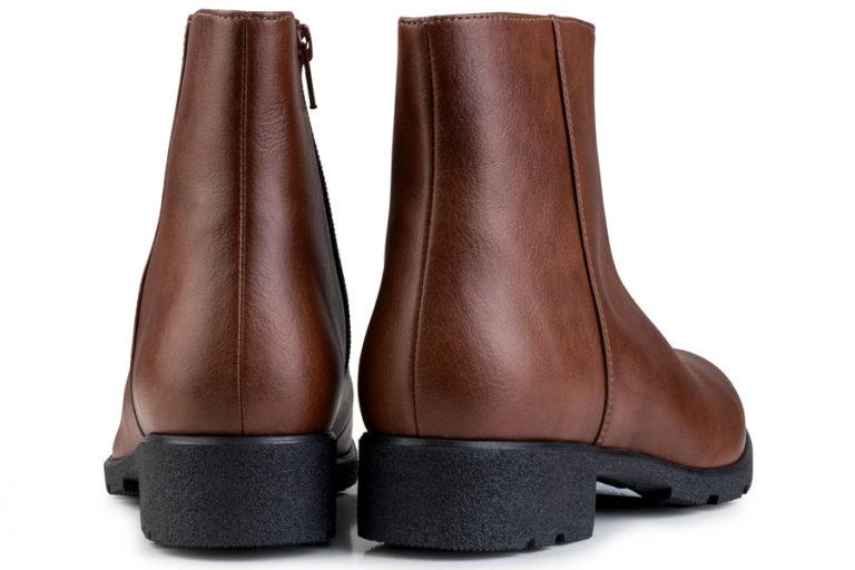 Vegane Stiefelette Grip+ Ancle Boot in braun von Eco Vegan Shoes