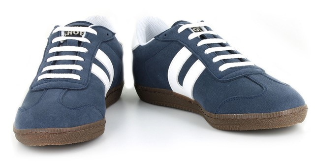 Vegane Sneaker Cheatah Navy von Vegetarian Shoes