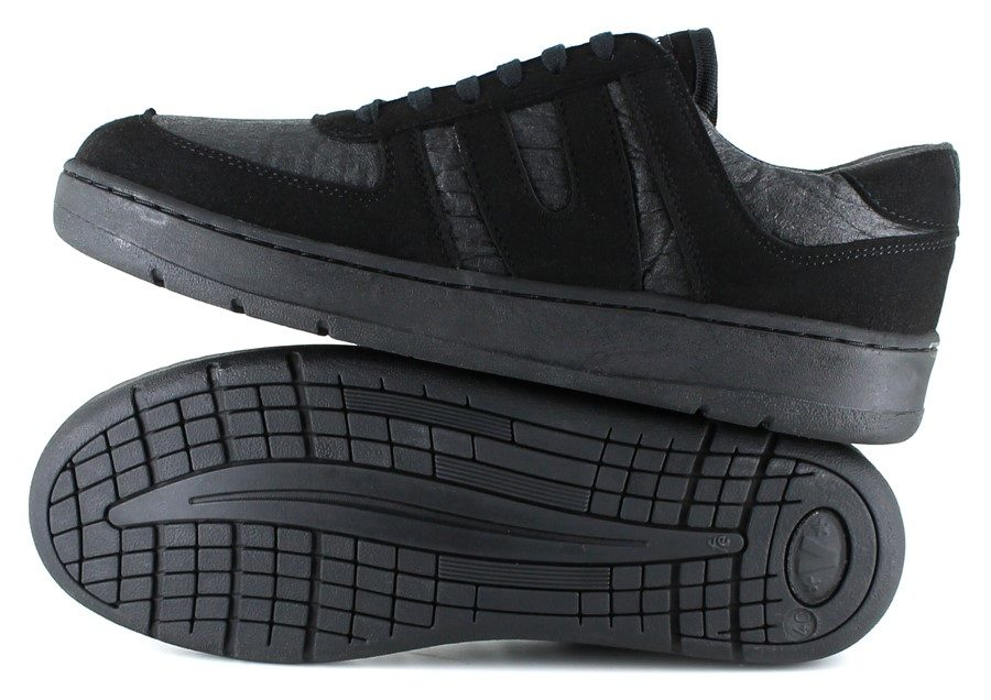 Pinatex Sneaker Pineapple Supreme in schwarz / grau von Vegetarian Shoes