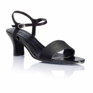 Vegane Sandalette Anabell in schwarz