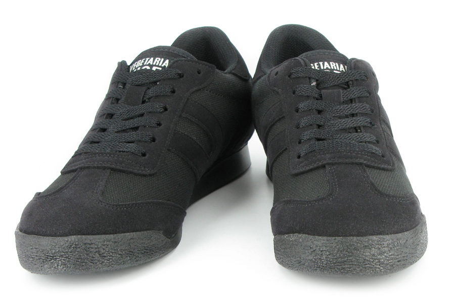Vegane Sneaker Panther Hemp in schwarz von Vegetarian Shoes