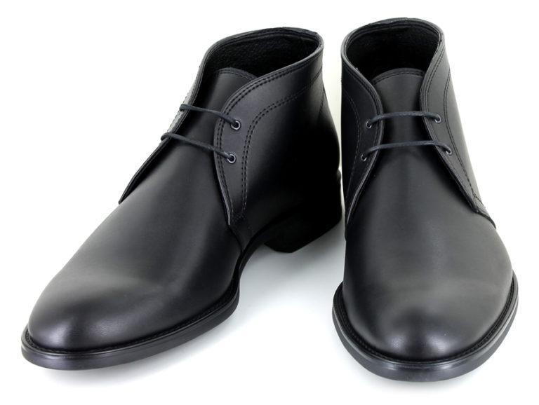 Vegane Stiefel Suit Boot in schwarz von Vegetarian Shoes