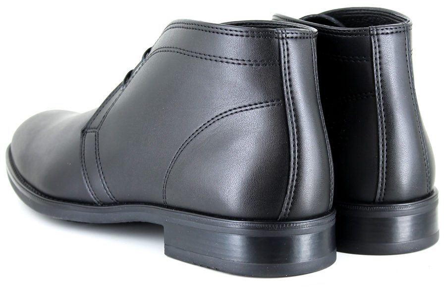 Vegane Stiefel Suit Boot in schwarz von Vegetarian Shoes