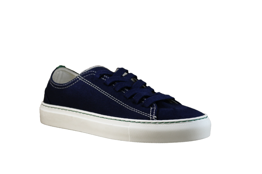 Vegane Sneaker Coretta marine von Vesica Piscis