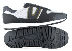 Vegane Schuhe Trail Legend MK2 in grau