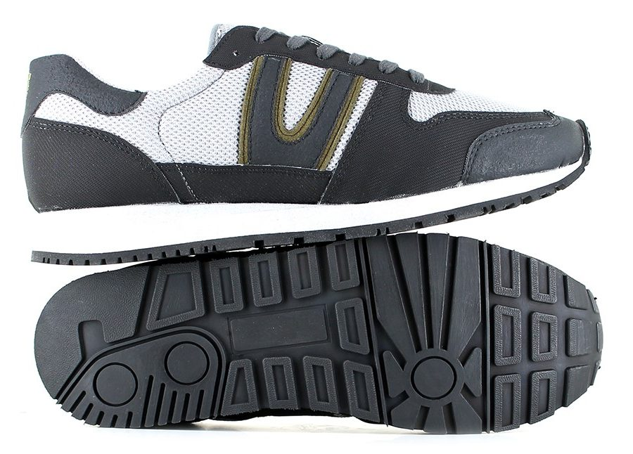 Vegane Schuhe Trail Legend MK2 in grau von Vegetarian Shoes