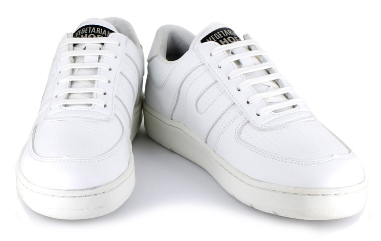 Vegane Sneaker Veg Supreme Lo Top in weiß von Vegetarian Shoes