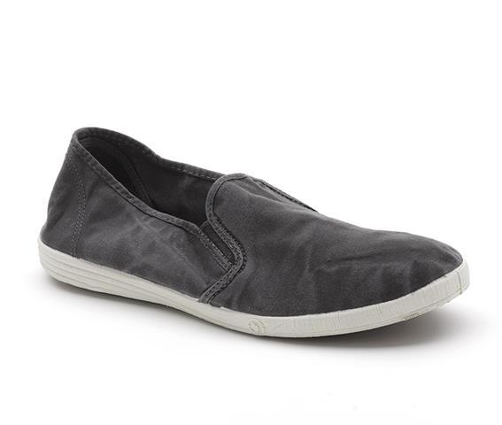 Vegane Schuhe Cangrejo in schwarz von Natural World