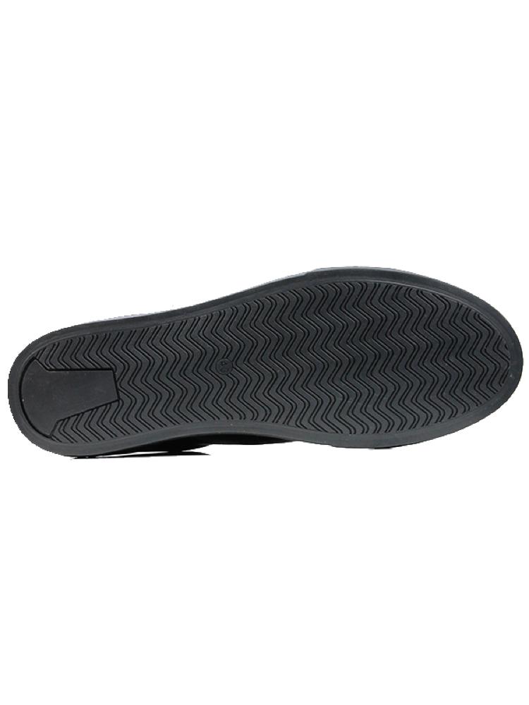 Vegane Sneaker NY Trainers in schwarz von Wills Vegan Shoes