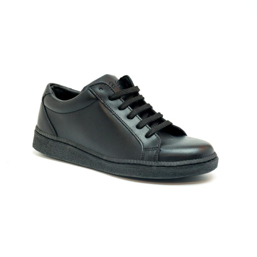 Vegane Sneaker Basic Micro in schwarz von NAE