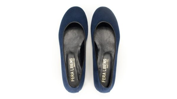 Vegane Ballerinas Calipso in blau von Fera Libens