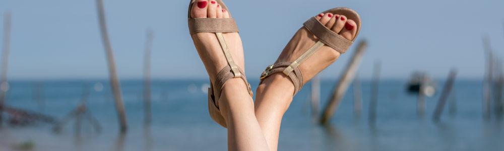 Vegane Sandale Intrepide in braun von Minuit Sur Terre
