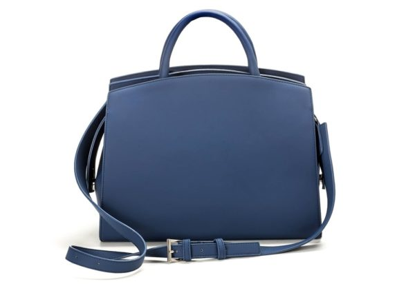Vegane Handtasche La Sofistica in blau von Miomojo