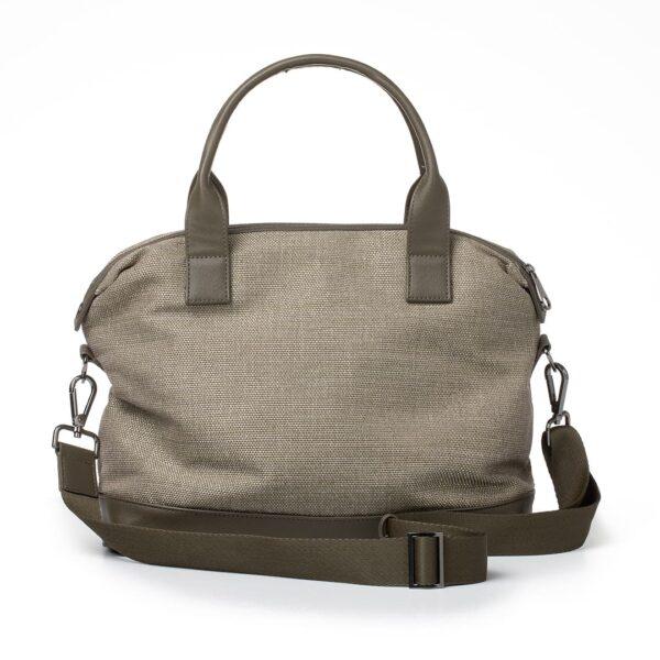 Vegane Handtasche Essential in oliv von Miomojo