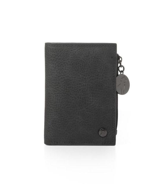 Vegane Geldbörse Cloe in schwarz von Miomojo