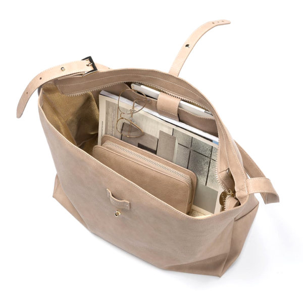 Vegane Handtasche Ethicool in beige von Miomojo