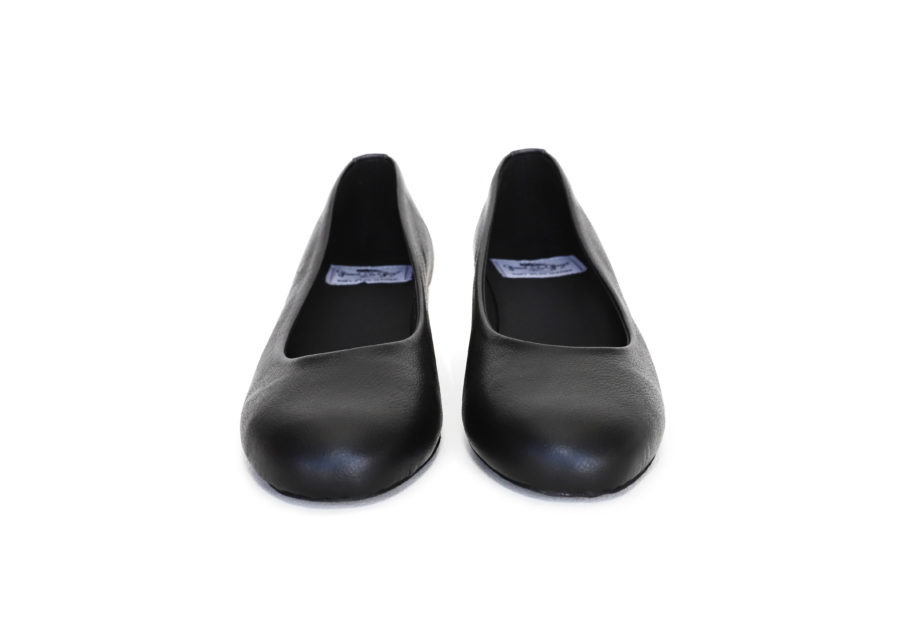 Vegane Ballerinas Betty in schwarz von Good Guys