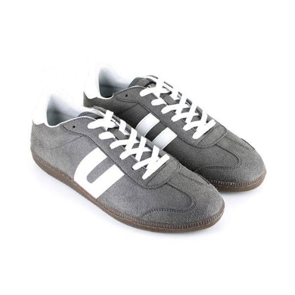 Vegane Sneaker Cheatah in grau von Vegetarian Shoes
