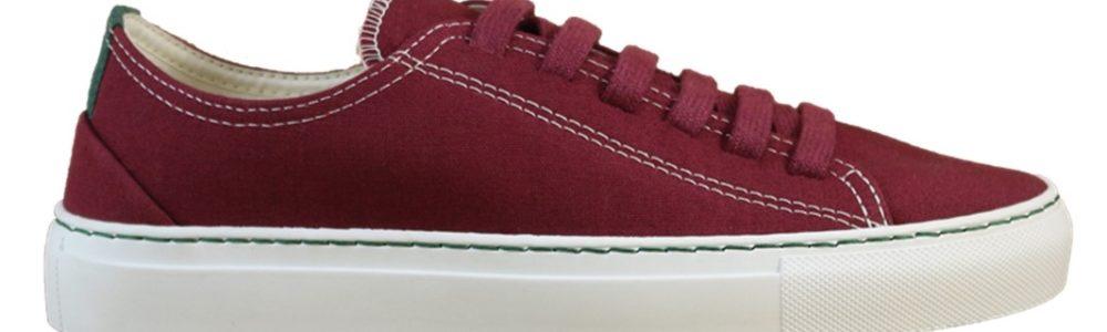 Vegane Sneaker Coretta rot von Vesica Piscis