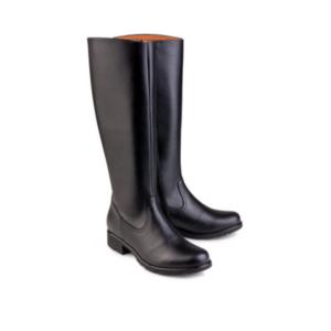 Vegane Stiefel Grip+ Knee High Boot in schwarz von Eco Vegan Shoes