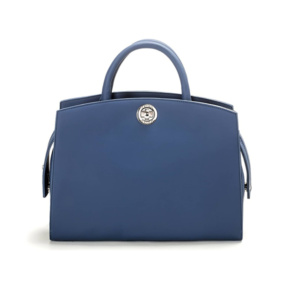 Vegane Handtasche La Sofisticata in blau von Miomojo