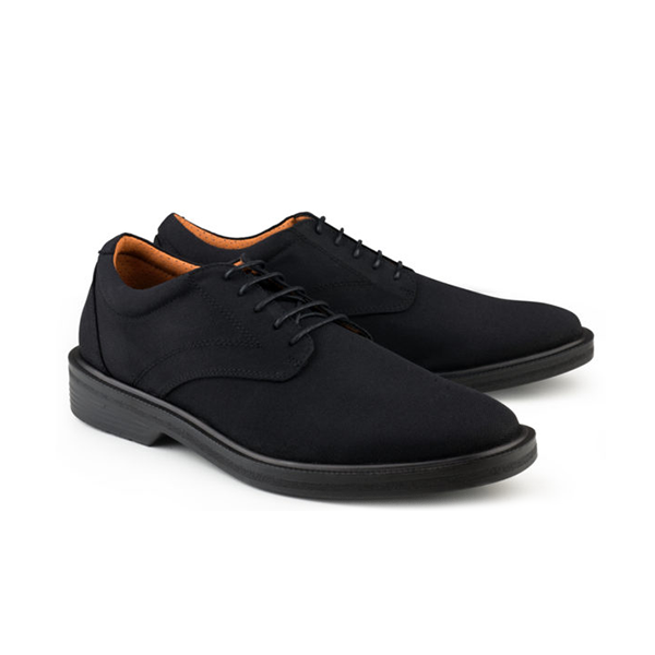 Vegane Schuhe London Walker in schwarz von Eco Vegan Shoes