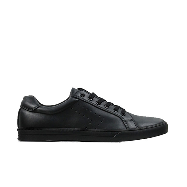 Vegane Sneaker NY Trainers in schwarz von Wills Vegan Shoes