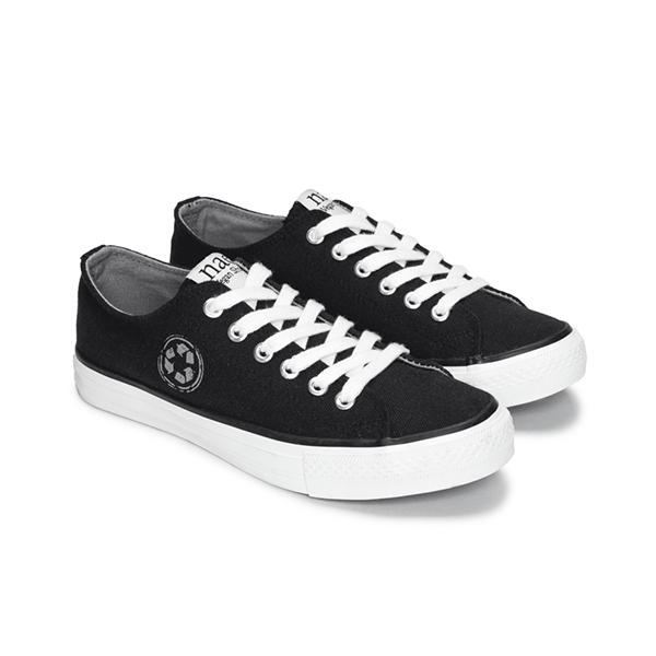 Sneaker Re-Claim in schwarz von NAE
