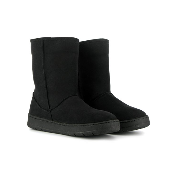 Vegane Stiefel Snug Boot in schwarz von Vegetarian Shoes