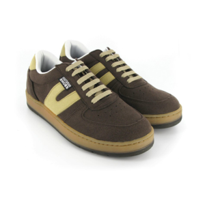 Vegane Sneaker Veg Supreme in braun von Vegetarian Shoes
