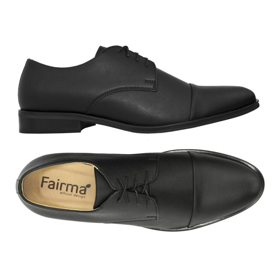 Schnürschuh Henry in schwarz von Fairma