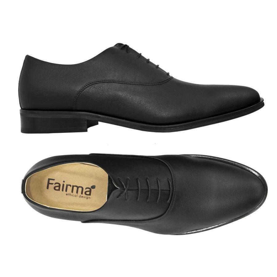 Schnürschuh Harry in schwarz von Fairma