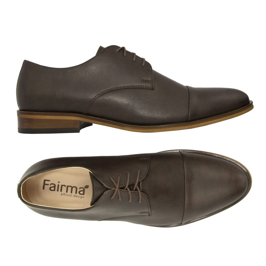 Schnürschuh Henry in braun von Fairma