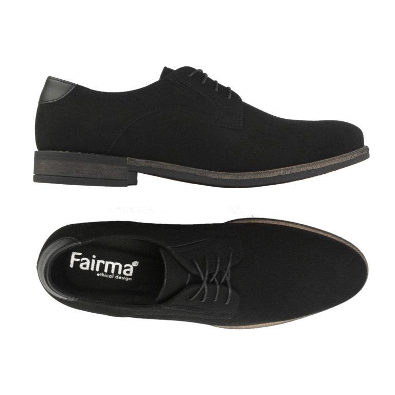 Schnürschuh Morris in schwarz von Fairma
